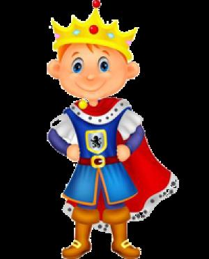 1. Câte cuvinte sunt în propoziţia: Fiul regelui este curajos.