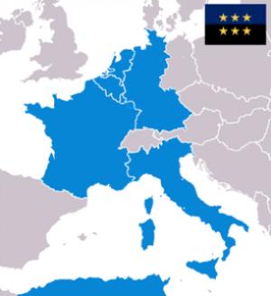 26. Ȋn ce an s-a constituit Uniunea Europeană (numită la acel moment Comunitatea Economică Europeană)?