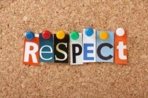 34.  Respectul față de o persoană presupune: