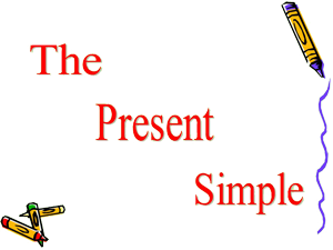 1. BE Present Simple- Who, What, Where, How