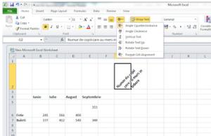 49. Ȋn imaginea de mai jos a aplicaţiei Microsoft Excel, lista de comenzi accesată permite: