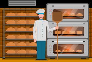 5. Un brutar a copt pâine de la 8.00 dimineața până la 8.00 seara. Câte ore a copt pâine brutarul?