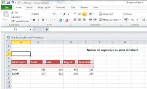 52. Ȋn ce meniu găsim grupul de comenzi Charts (Grafice) al aplicației Microsoft Excel?