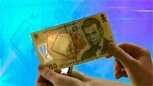 59. Existǎ vreo metodǎ de a ne da seama dacǎ o bancnotǎ este falsificatǎ?